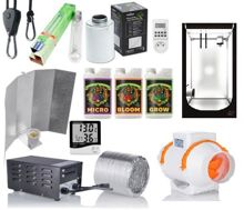 Growbox Set Hydro Shoot 100x100x200 PS Osram 400w