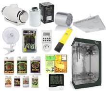 Growbox set 120x120x200cm + LuckyGrow + RoyalRoom® + S&P